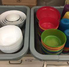 Using Non-Disposable Kitchen Supplies