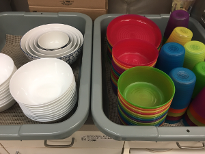 Using Non-Disposable Kitchen Supplies